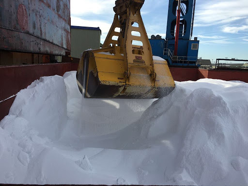 Bulk Urea grab discharge
